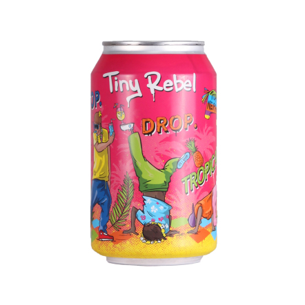 Tiny Rebel Stop Drop. Tropical