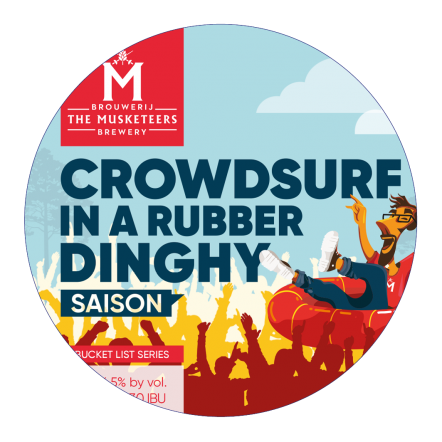Troubadour Crowdsurf in a Rubber Dinghy