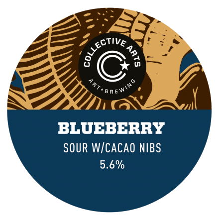 Collective Arts Blueberry Chocolate Sour