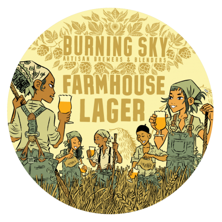 Burning Sky Farmhouse Lager