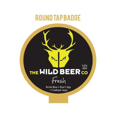 Wild Beer Co Fresh Tap Badge