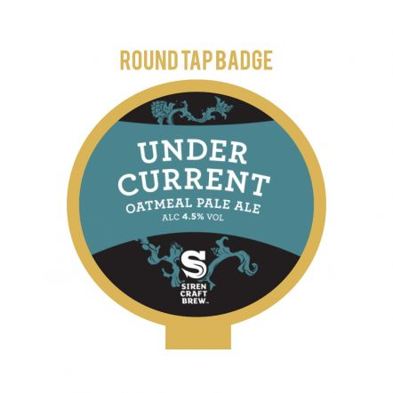 Siren Under Current Tap Badge