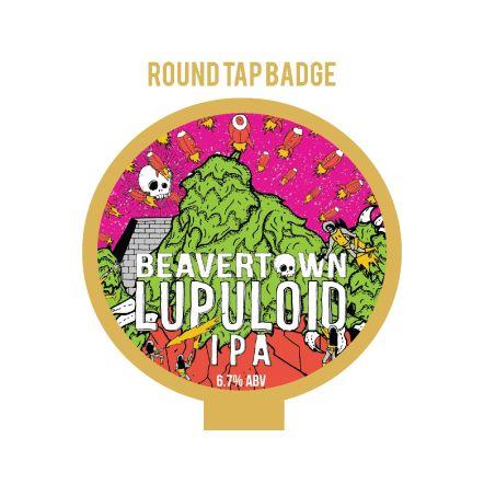Beavertown Lupuloid Tap Badge