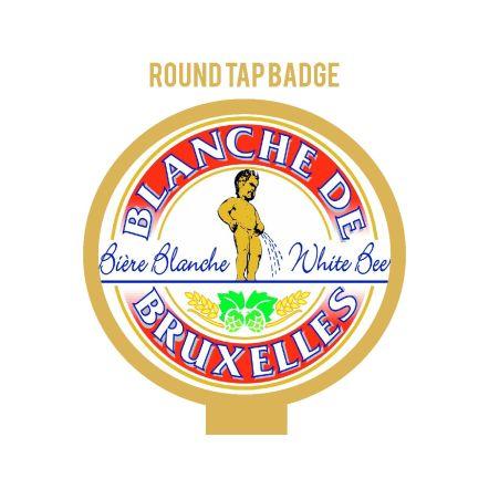 Blanche de Bruxelles Tap Badge