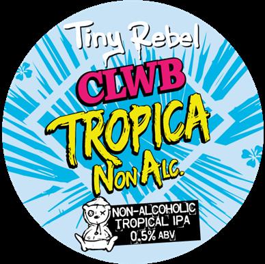 Tiny Rebel OOD Clwb Tropica NA (Non Alcoholic) (BBE 4.12.20)