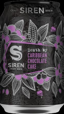 Siren Death by Caribbean Chocolate Cake