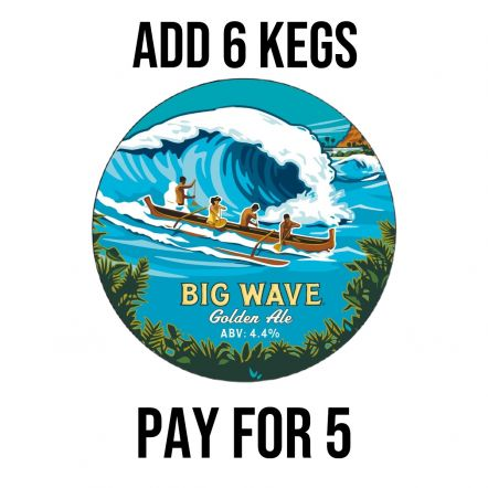 Kona Brewing Co Big Wave -SPECIAL OFFER