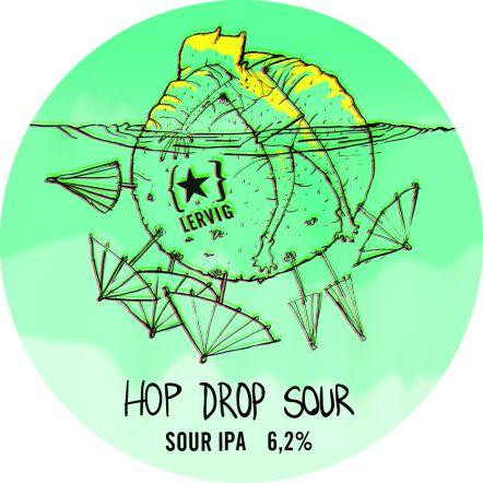 Lervig OOD Hop Drop Sour IPA (BBE 28.10.20)