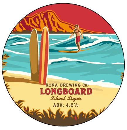 Kona Brewing Co Longboard Lager (BBE 19.5.20)