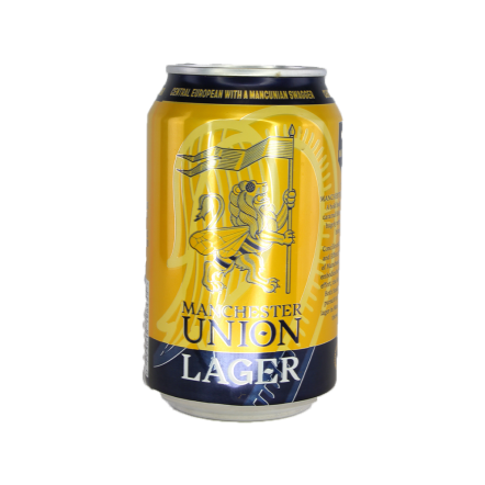 Manchester Union OOD Union Lager (BBE1.4.21)