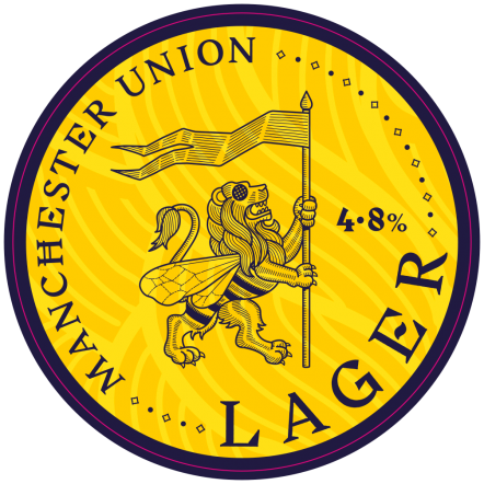 Manchester Union OOD Union Lager (BBE 18.3.21)