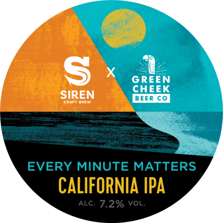 Siren Every Minute Matters (x Green Cheek Beer)