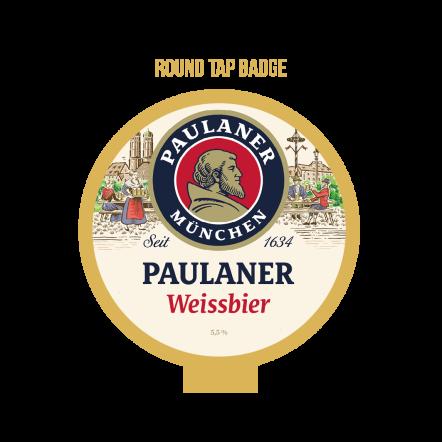 Paulaner Weissbier Tap Badge