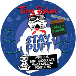 Tiny Rebel Imperial Stay Puft Mint Chocolate