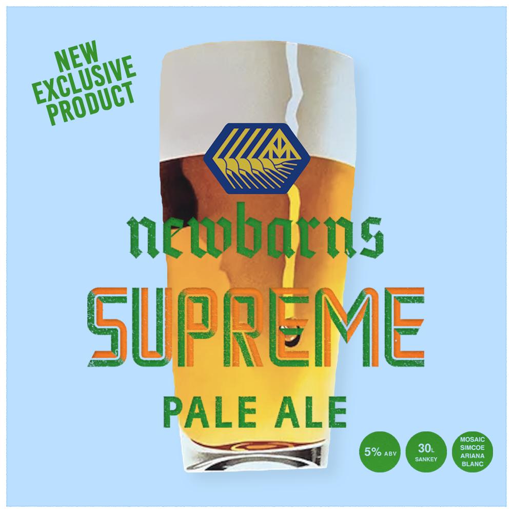 New Exclusive Beer: Newbarns - Supreme