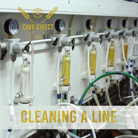 Cleaning a line