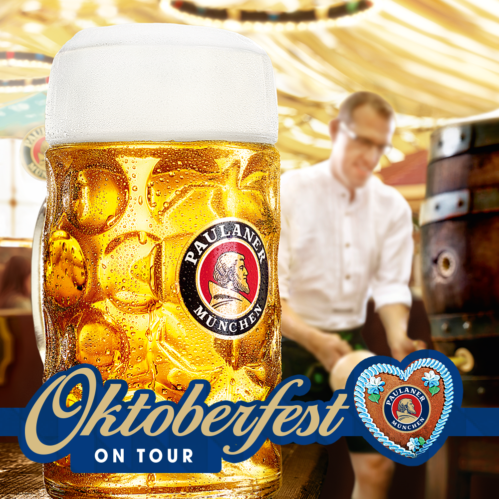 Paulaner and Cave Direct Announce Oktoberfest On Tour