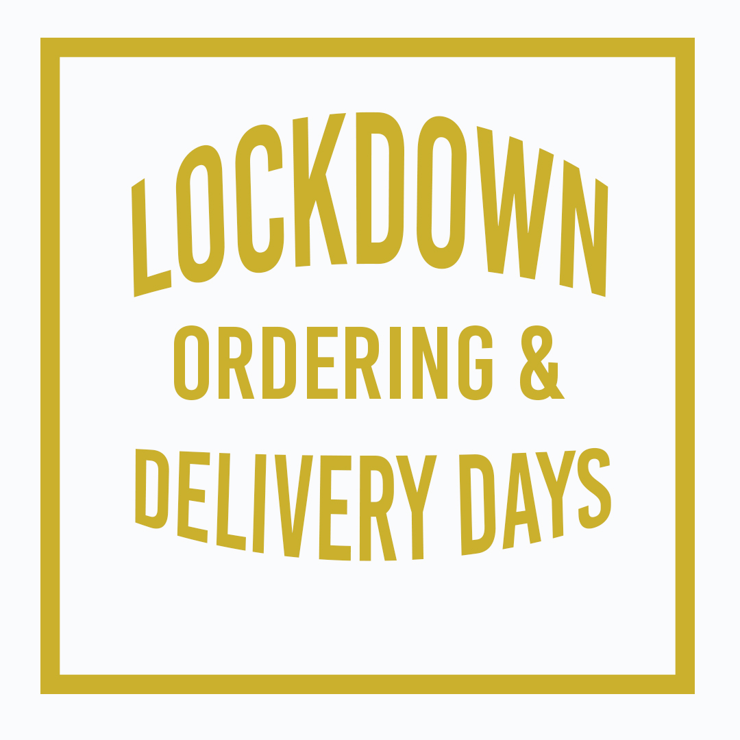 Order Times & Delivery Days