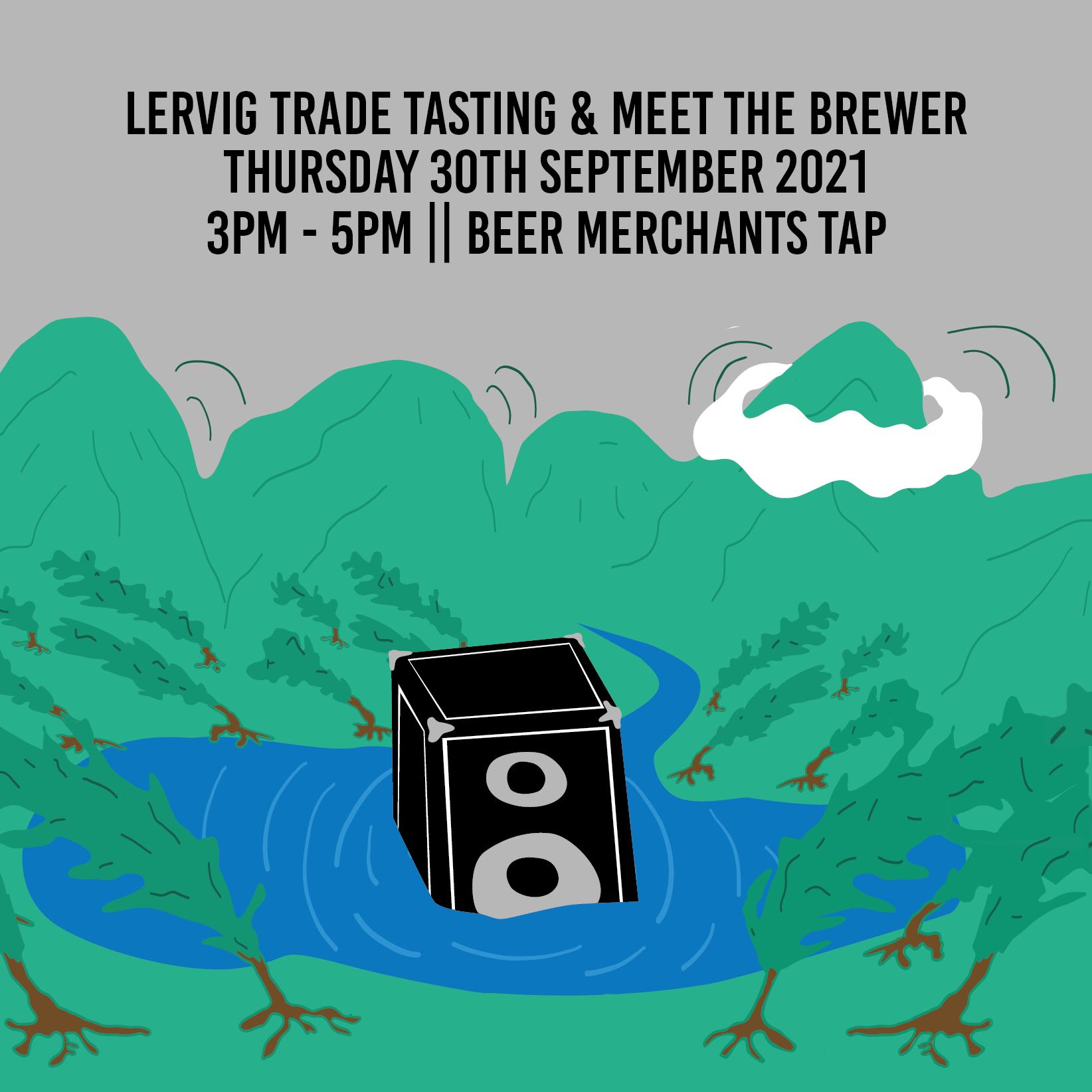 Lervig Trade Tasting Invitation